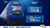 """重载铁路""""动力之王""""中国超大功率电力机车下线"""