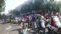 第九个全国交通安全日:海南多地开展交通安全宣传活动