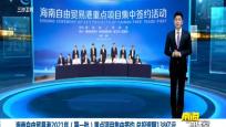 海南自由贸易港2021年(第一批)重点项目集中签约 总投资额138亿元