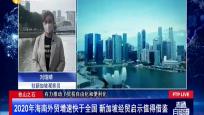 2020年海南外贸增速快于全国 新加坡经贸启示值得借鉴