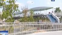 海口龙昆南延长线两座新天桥投入使用