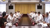 沈晓明与山西省长林武会谈 冯飞 毛万春参加