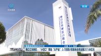 """海口江東新區:""""小切口""""帶動""""大產業"""" 1-7月累計簽意向合同金額257.68億元"""