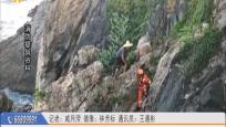 男子海钓被困礁石间 消防成功营救帮其脱险