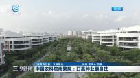 中国农科院南繁院:打赢种业翻身仗