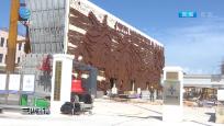 """""""圆规""""影响减弱 三沙在建项目恢复施工"""