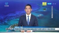 海南將防汛防風Ⅲ級應急響應提升至防汛防風Ⅱ級應急響應