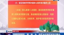 海南将按照东、西、南、北、中五大行政区域进行整合