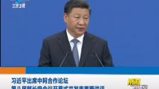 习近平出席中阿合作论坛 第八届部长级会议开幕式并发表重要讲话