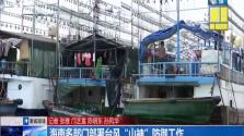 """海南多部门部署台风""""山神""""防御工作"""