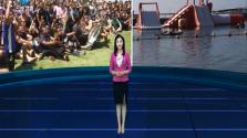 """海军黄山舰参加""""卡卡杜杯-2018""""运动会"""