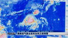 海南省气象台发布台风三级预警