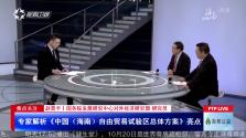 焦点关注:专家解析《中国(海南)自由贸易试验区总体方案》亮点
