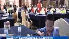 2018年海南省国际象棋公开赛对弈