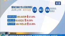 海南离岛免税销售再创新高 上半年销售金额达65.82亿元