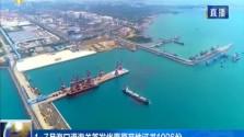 1—7月海口港海關簽發優惠原產地證書1096份