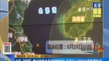 """台风""""杨柳""""擦过海南本岛可能性较大 未来24小时内以雷阵雨为主"""