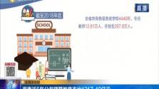 海南近5年公共预算教育支出1217.49亿元