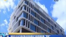 """海南开足马力推进重点项目建设 为高质量发展""""蓄能"""""""