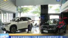 海南新能源汽车保有量达8.15万辆 省内占比高出全国平均水平1.5倍
