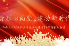 《青春心向党 建功新时代》——海南工商职业学院