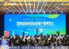 第四届海南国际健康产业博览会开幕