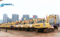 微视频: 大动作!海南100个项目集中开工