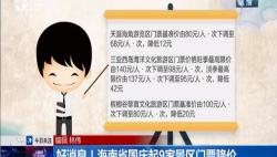 好消息!海南省国庆起9家景区门票降价