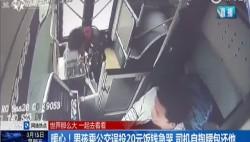 暖心!男孩乘公交誤投20元飯錢急哭 司機自掏腰包還他