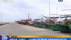 """防范台风""""沙德尔"""":三沙渔船上岸门窗加固 全面做好防范台风工作"""