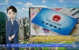 AI播报| 海南社保卡将逐步整合替代各类民生服务卡和证件