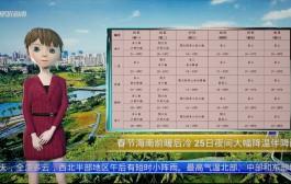 AI播報 | 春節海南前暖后冷 25日夜間至27日大幅降溫伴降雨
