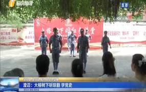 澄迈:大榕树下听琼剧 学党史