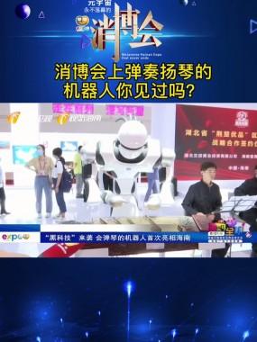 消博会上弹奏扬琴的机器人你见过吗?