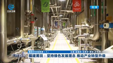 福建莆田:堅持綠色發展理念 推動產業轉型升級
