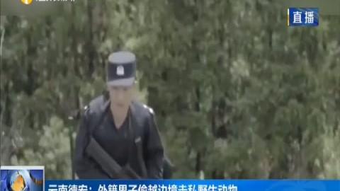 云南德宏:外籍男子偷越边境走私野生动物