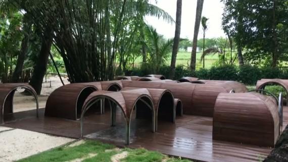 """微视频:青塘村变身""""美丽乡村"""" 打造儿童乐园"""