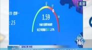 海口市區交通運行壓力緩解 晚高峰熱度逐漸下降
