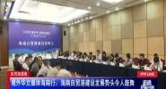 境外华文媒体海南行:海南自贸港建设发展势头令人鼓舞