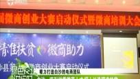 白沙:第二届微商创业大赛启动仪式暨电商创业培训大会召开