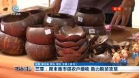 三亚:周末集市促农户增收 助力脱贫攻坚