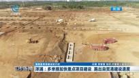 洋浦:多举措加快重点项目建设 跑出自贸港建设速度