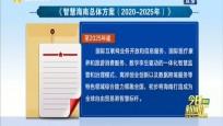 智慧海南总体方案发布 打造成全球自贸港智慧标杆