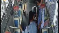 """乘客突然晕倒 公交车秒变""""救护车"""""""