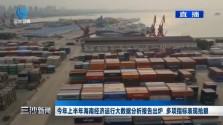 三沙新闻 今年上半年海南经济运行大数据分析报告出炉 多项指标表现抢眼