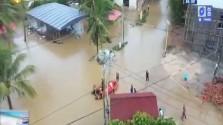 海南未来24小时全岛将迎来大范围降雨大风天气