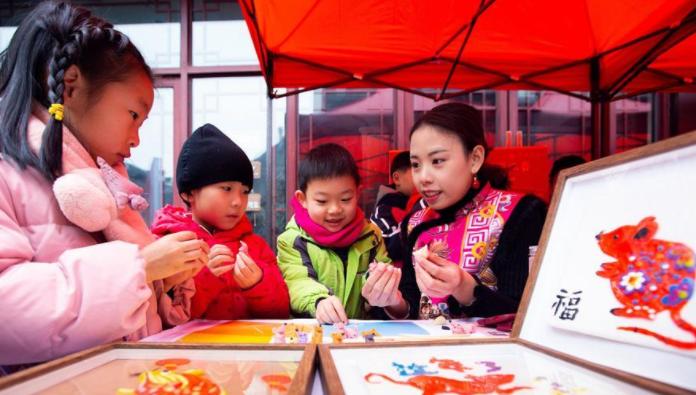 多彩民俗迎春节