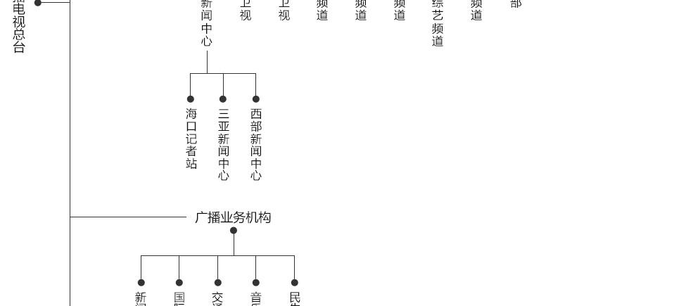 海南广播电视总台组织架构