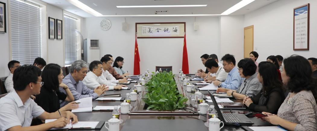 海南省委常委、三亚市委书记童道驰一行走访海南广播电视总台
