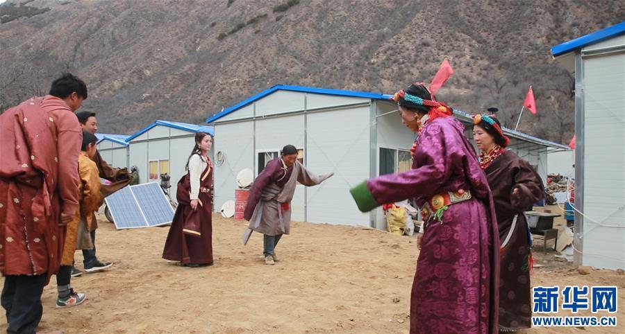 喜庆·祥和·温暖——西藏金沙江堰塞湖康扎西安置点受灾群众欢度藏历新年即景